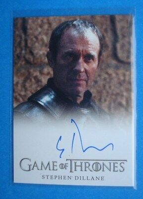 2014 **GAME Of THRONES** Season 3 Auto/AutoGraph Card Stephen DILLANE Stannis
