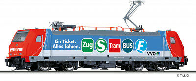 "Tillig 04919 - TT - Electric Locomotive BR 146 017-9 "" VVO "" DB AG -"