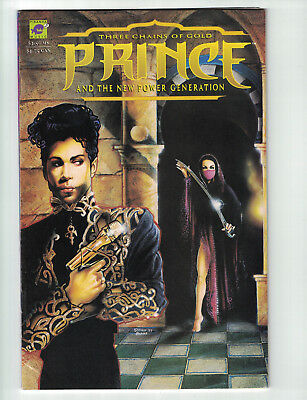 Prince and The New Power Generation: Three Chains of Gold (Apr 1994, DC) VG