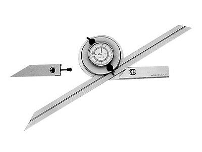4 X 90 Degree Universal Dial Protractor Set