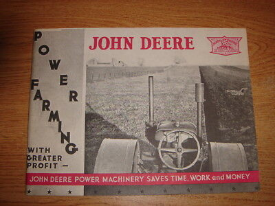 John Deere Power Farming Full Line information