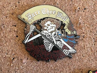 Grateful Dead Fare Thee Well Hat Pin