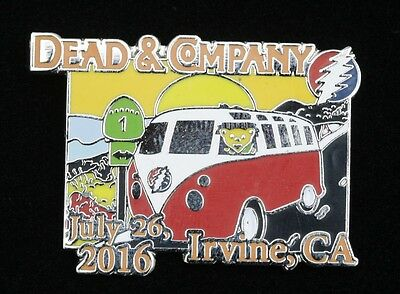 Grateful Dead and Company Irvine , CA Show Pin 2016 Limited Edition 250