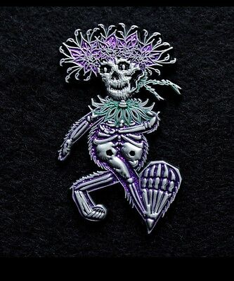 "Grateful Dead And Company ""Dancing Beartha Pin"" LE 75   V2"