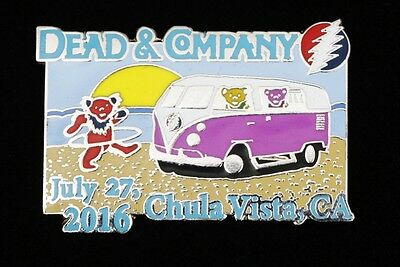 Grateful Dead and Company Chula Vista, CA Show Pin 2016 Limited Edition 250