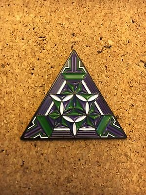 Sacred Geometry Artwork Hat Pin