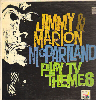 JIMMY&MARION Mc PARTLAND-LP- PLAY TV THEMES- ORG. DESIGN-MONO-USA- 1960s