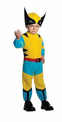 Marvel Comics The Wolverine X-Men Toddler Halloween Costume Size 2-4 Ages 1-2