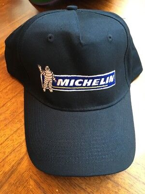 New Michelin Tire Man Embroidered Baseball Golf Trucker Hat Cap Adjustable Strap