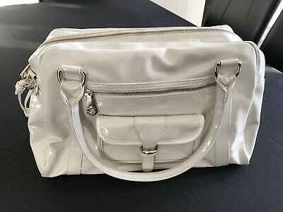 iCandy Emilia East West Ivory Baby Change Bag - brand new, never been used