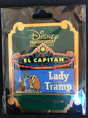 Disney LADY AND THE TRAMP Marquee Pin LE 300 DSF DSSH GSF PTD