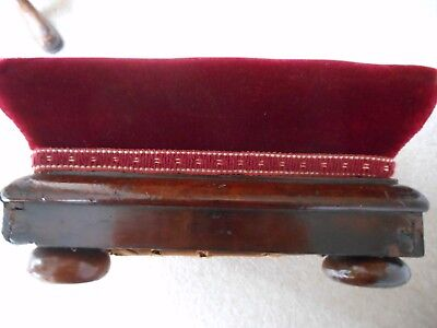 Victorian Mahogany Foot Stool / Prayer Stool