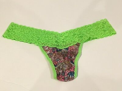 bd4e24501 WOMEN S HANKY PANKY Printed Low Rise Thong Multi-Color One Size ...