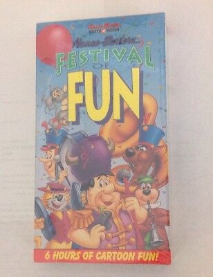 Hanna-Barbera Festival of Fun: 6 Hours (VHS 1991) Brand New Factory Sealed! OOP