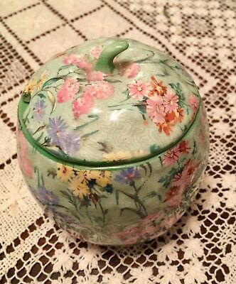 Shelley Melody Chintz Lidded Preserves Or Sugar Jar