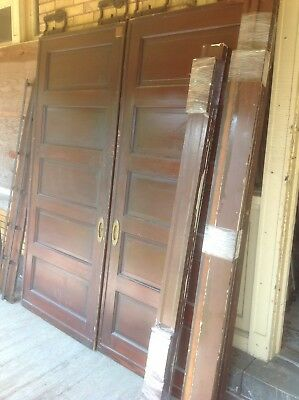 Complete Set Of Pocket Doors/Tracking/Casing
