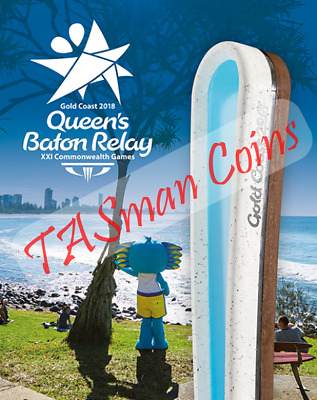 Australia 2018 - Queen's Baton Relay XXI Commonwealth Games Sheetlet Stamp Pack