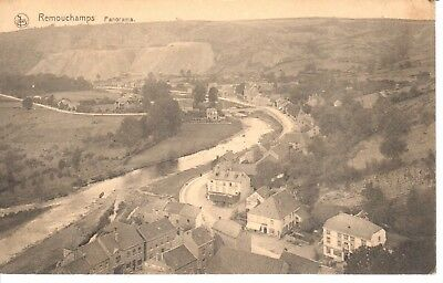carte postale - Aywaille - CPA - Remouchamps - Panorama