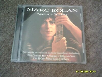 marc bolan acoustic warrior cd