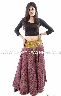 9b1cc59cde Indian Fusion Silk Umbrella Trouser Pant- Fashionable Wide Leg Palazzo Harem
