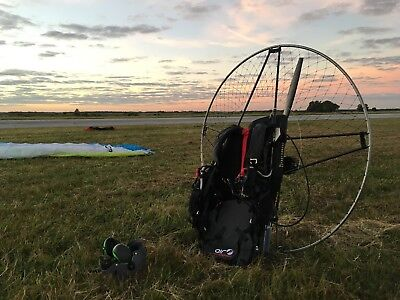 AirConception Ultra 130 Paramotor, Fully loaded! Powerfloat, ozone reserve.