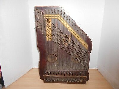 The Bell Harp Company Harp Antique Music MANDOLIN GUITAR HARP Instrument