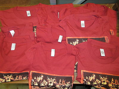 NEW - 10x WHOLESALE LOT BRUCE SPRINGSTEEN CONCERT BAND MUSIC T-SHIRT GIRLS LARGE