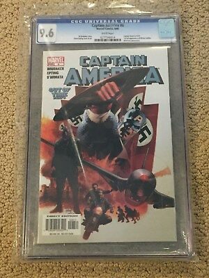 Captain America 6 CGC 9.6 White Pages (1st app of Winter Soldier)