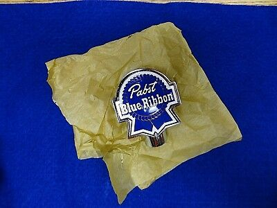 *Vintage >PABST BLUE RIBBON TAP KNOB *NEW OLD STOCK COLLECTOR QUALITY*