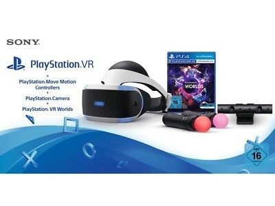 Sony Playstation VR Inkl. Kamera + PS VR WORLD + 2 Move Controller MIT RECHNUNG