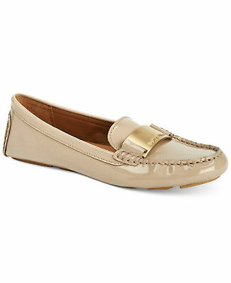d45f9d3a863 Calvin Klein Lisette Womens Flats Loafers Size 8 Cocoon Soft Patent