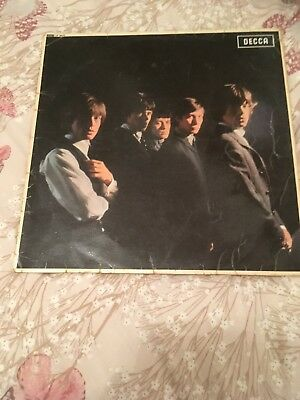 Rolling Stones - Rolling Stones Lp Early Press Red Unboxed Label