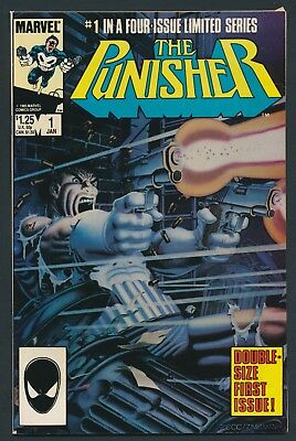 Marvel Comics The Punisher #1 1986-1St Punisher In Solo Title-Double Size Issue