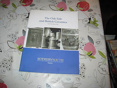 Sotheby's Catalogue Jun99 The Oak Sale & British Ceramics