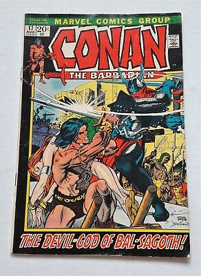 Conan The Barbarian # 17 Marvel Comic 1972 Art By Gil Kane