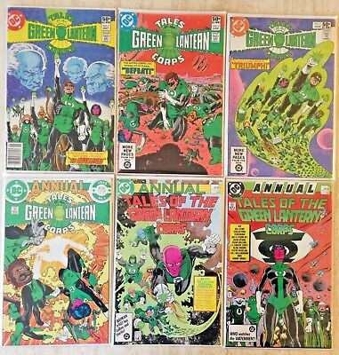 Tales Of The Green Lantern Corps (1981) 1-3 Plus Annual 1-3 (1985-87)