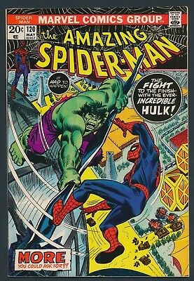 Marvel Comics Amazing Spider-Man #120 1973-Spider-Man Vs. Hulk Pt. 2-Solid Copy!
