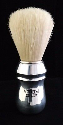 Zenith Pro Aluminum Handle Big Boar Shave Brush. 26x57mm knot. Made in Italy.B2
