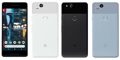 BRAND NEW Google Pixel 2 AND Google Pixel XL 2 FACTORY UNLOCKED 64/128 GB, 4 GB