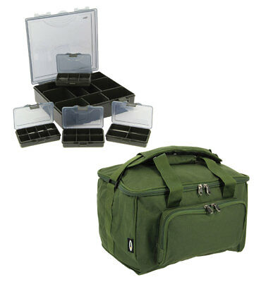 Quick Fish Session Carryall & 4+1 Tackle Bit Box Carp Coarse Fishing Ngt Tackle