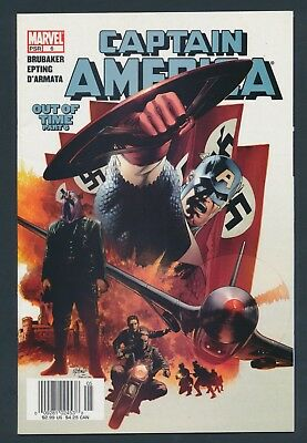 Marvel Comics Captain America #6  2005 - 1St Appearance Of Winter Soldier-Key!