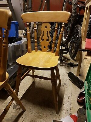 oak chairs dining set of 6 retro victorian