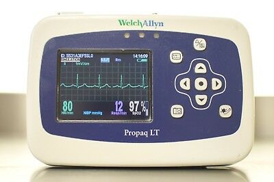 Welch Allyn Propaq LT Vital Sign Patient Monitor 007-0160-00 640-0628-04