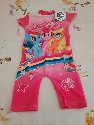 Baby Girls 18-24 Months 1.5-2 yrs My Little Pony Swimsuit 💕BNWT💕