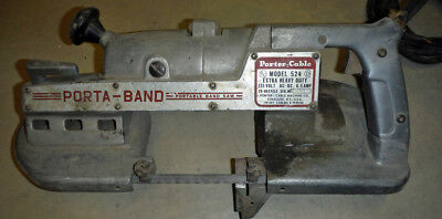Porter Cable   Model 524   Porta Band Saw    EXTRA HEAVY DUTY    6.5 AMP  TESTED