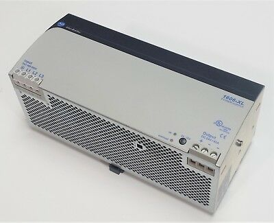 Allen Bradley 1606-XL960E-3 Switched Power Supply, 480VAC 3ph to 24VDC 40A 960W