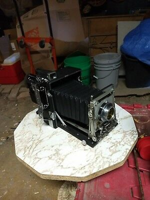 Graflex 4x5 Crown Graphic Camera With Rangfinder