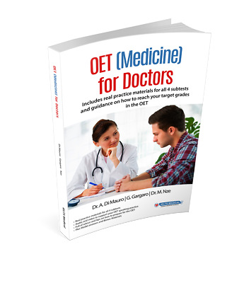 OET (Medicine) Book & CD Complete Guide- Occupational English Test GMC / Doctors