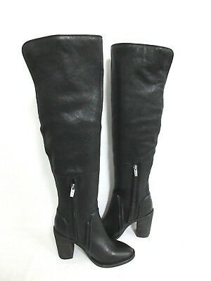 780a04c9297 New Vince Camuto Melaya Over The Knee Leather Boots Small Heel Size  5.5