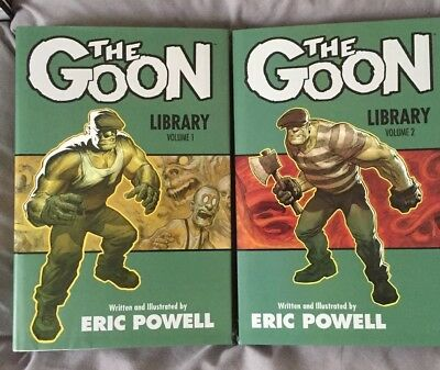 The Goon Library Edition Volume 1-4
